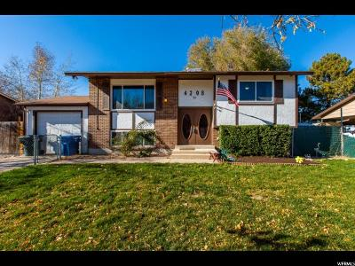 West Valley City Single Family Home For Sale: 4208 S Brookfield Way W