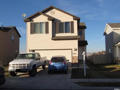 Eagle Mountain Single Family Home For Sale: 1533 E Shadow Dr