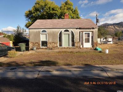 East Carbon UT Single Family Home For Sale: $25,000