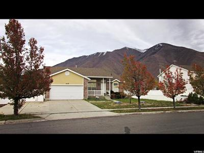 Spanish Fork Single Family Home For Sale: 1629 S Oak View Ln