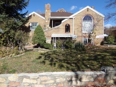 Salt Lake City Multi Family Home For Sale: 1827 E 2100 S