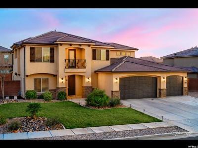 St. George Single Family Home For Sale: 2916 E Crimson Rdg