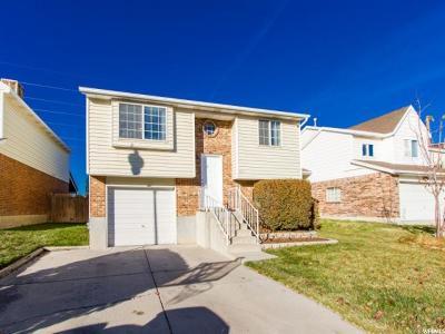 West Jordan UT Single Family Home For Sale: $255,000