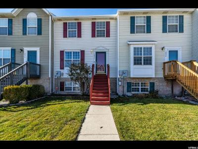West Valley City Townhouse For Sale: 2842 S Archmore Ct W