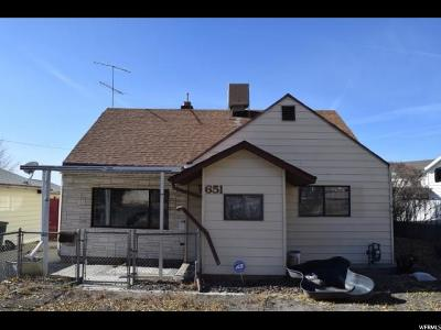 East Carbon UT Single Family Home For Sale: $54,000