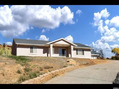 St. George Single Family Home For Sale: 1032 N 2075 Cir E