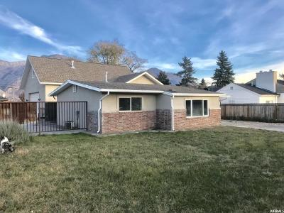 Orem Single Family Home For Sale: 1505 S 800 E