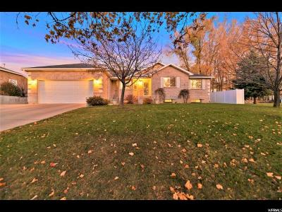 Single Family Home For Sale: 374 S 830 E