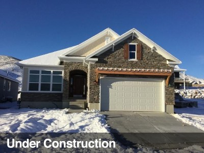 Herriman Single Family Home For Sale: 14892 S Mossley Bnd W #25