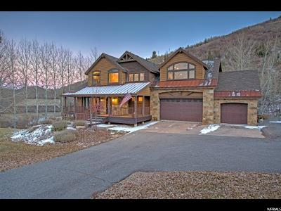 Park City Single Family Home For Sale: 7836 Pinebrook Rd N #357