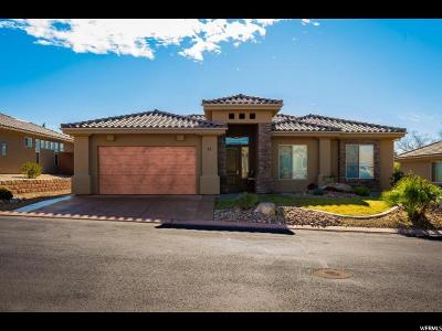 St. George Single Family Home For Sale: 1795 N Snow Canyon Pkwy #61