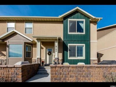 Eagle Mountain Townhouse For Sale: 8104 N Rock Creek Cove Ln