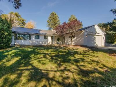 Holladay Single Family Home For Sale: 2825 E Hermosa Way S