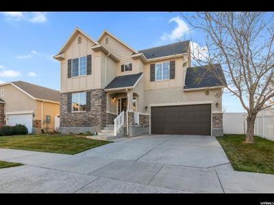 West Jordan UT Single Family Home For Sale: $394,900