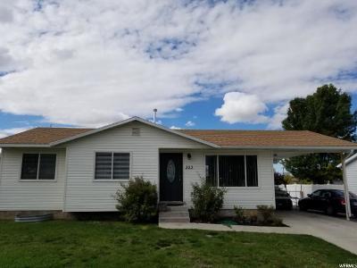 Tooele Single Family Home For Sale: 353 Landmark Dr