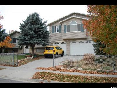 West Valley City Single Family Home For Sale: 4404 S Wormwood Dr W