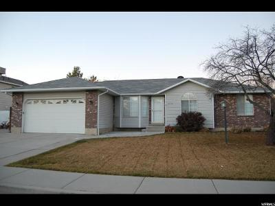 West Valley City Single Family Home For Sale: 3710 W Spring Water Dr S