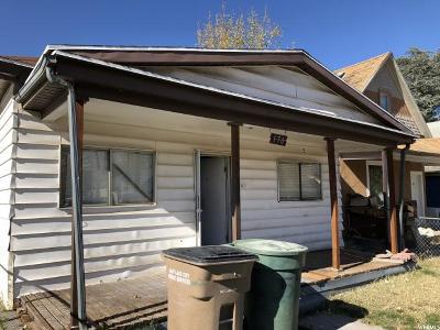Salt Lake City Single Family Home For Sale: 570 Post S