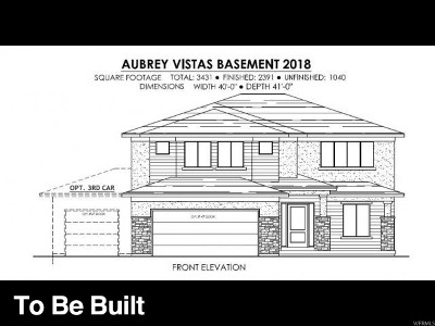 Santaquin Single Family Home For Sale: 1048 S Vista Ridge Dr W #AUBY