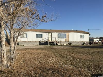 Hinckley UT Single Family Home For Sale: $69,900