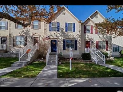 Eagle Mountain Townhouse For Sale: 3437 Peregrine Rd