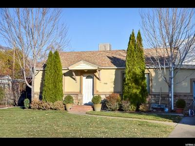 Orem Single Family Home For Sale: 546 N 640 W
