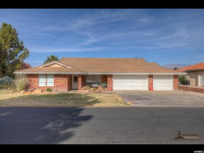 St. George Single Family Home For Sale: 959 Larkspur Rd