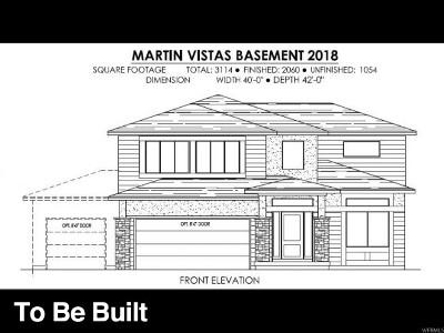 Santaquin Single Family Home For Sale: 1048 S Vista Ridge Dr W #MRTN