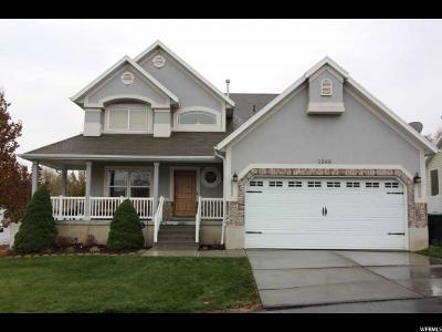 Murray Single Family Home For Sale: 1293 W Glencoe Dr S
