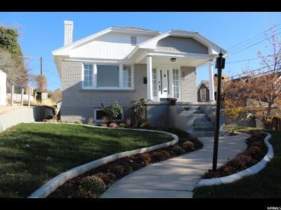Salt Lake City UT Single Family Home For Sale: $499,000