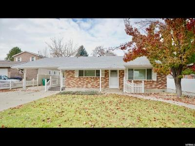 Provo Single Family Home For Sale: 2295 E Timpview Dr