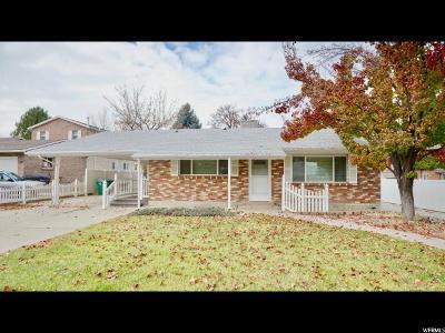 Provo UT Single Family Home For Sale: $349,900