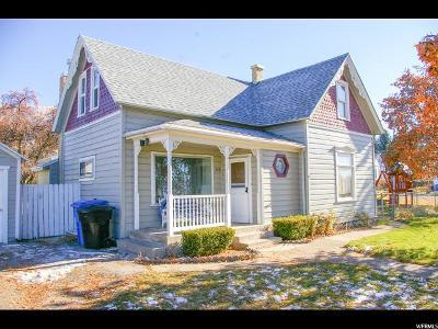 Millville UT Single Family Home For Sale: $205,000
