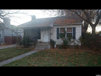 Salt Lake City UT Single Family Home For Sale: $339,900