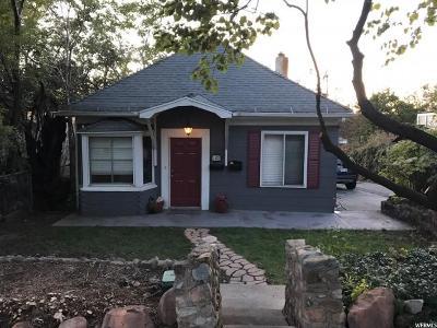 Salt Lake City Single Family Home For Sale: 562 S 1000 E