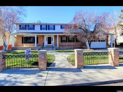 Orem Single Family Home For Sale: 1156 S Palisades