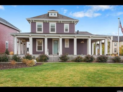 South Jordan Single Family Home For Sale: 5431 W Copper Needle Way S