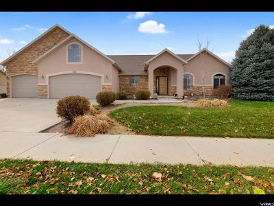 Spanish Fork Single Family Home For Sale: 632 Spanish Fields Dr