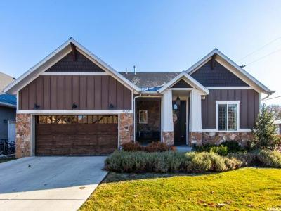 Salt Lake City Single Family Home For Sale: 4009 S Orchard Park Ct E