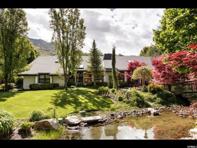 Holladay Single Family Home For Sale: 5291 S Havenwood Ln