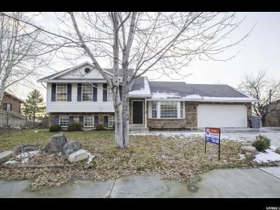 Pleasant Grove Single Family Home For Sale: 1694 E Blackhawk Dr