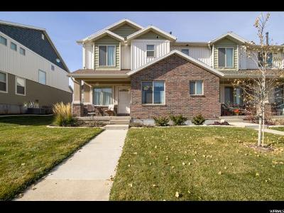 Santaquin Townhouse For Sale: 1017 N Apple Seed Ln