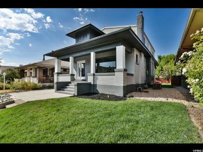 Salt Lake City Single Family Home For Sale: 853 E Emerson Ave S