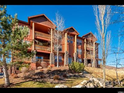 Wasatch County Condo For Sale: 1790 W Fox Bay Dr #D301