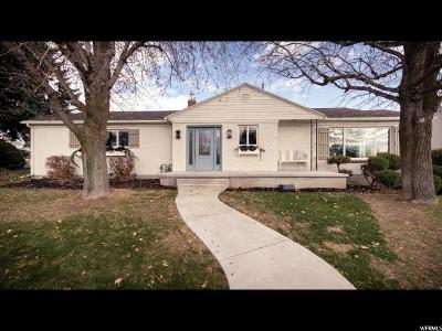 Holladay Single Family Home For Sale: 4165 S 2000 E