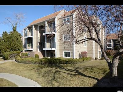 Salt Lake City Condo For Sale: 4611 S Quail Vista Cv E #F