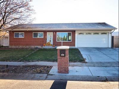 Salt Lake City Single Family Home For Sale: 3607 S Royal Scott Dr
