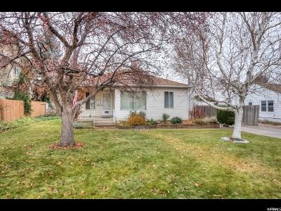 Salt Lake City Single Family Home For Sale: 2974 E 2965 S