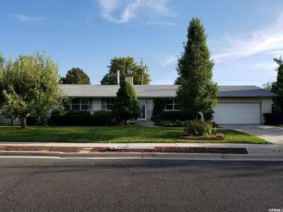 Cottonwood Heights Single Family Home For Sale: 1358 E 7200 S
