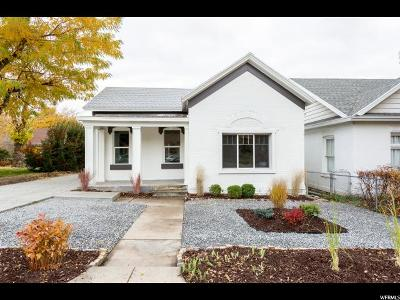 Salt Lake City Single Family Home For Sale: 830 E 1st Ave N